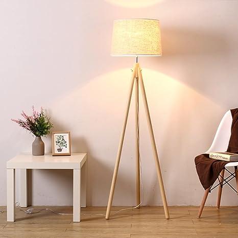 1.5M Lámpara de pie trípode Luz de pie para Sala Dormitorio ...