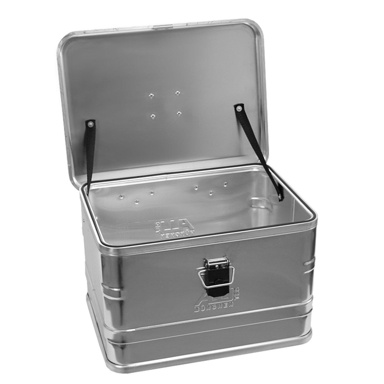 Alutec 30029 Behälter aus Aluminium, Maße (L x B x H): 432x 335x 277mm, Material: Aluminium (1 mm)