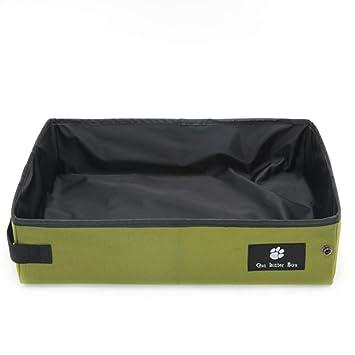 Caja De Arena para Gatos De Alta Gama, Caja De Arena Plegable Plegable, Baño para Gatos, Baño para Gatos: Amazon.es: Hogar
