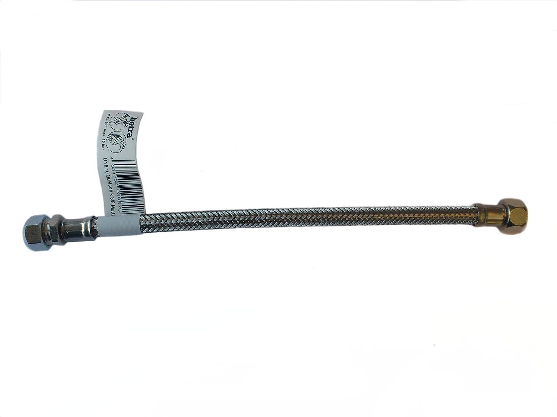 Hetra 341015300 Flexibler Verbindungsschlauch 3/8 Zoll x 10 mm Ü berwurfmutter 300 mm