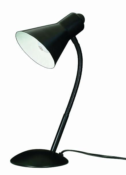 Satco products 60 803 goose neck desk lamp black