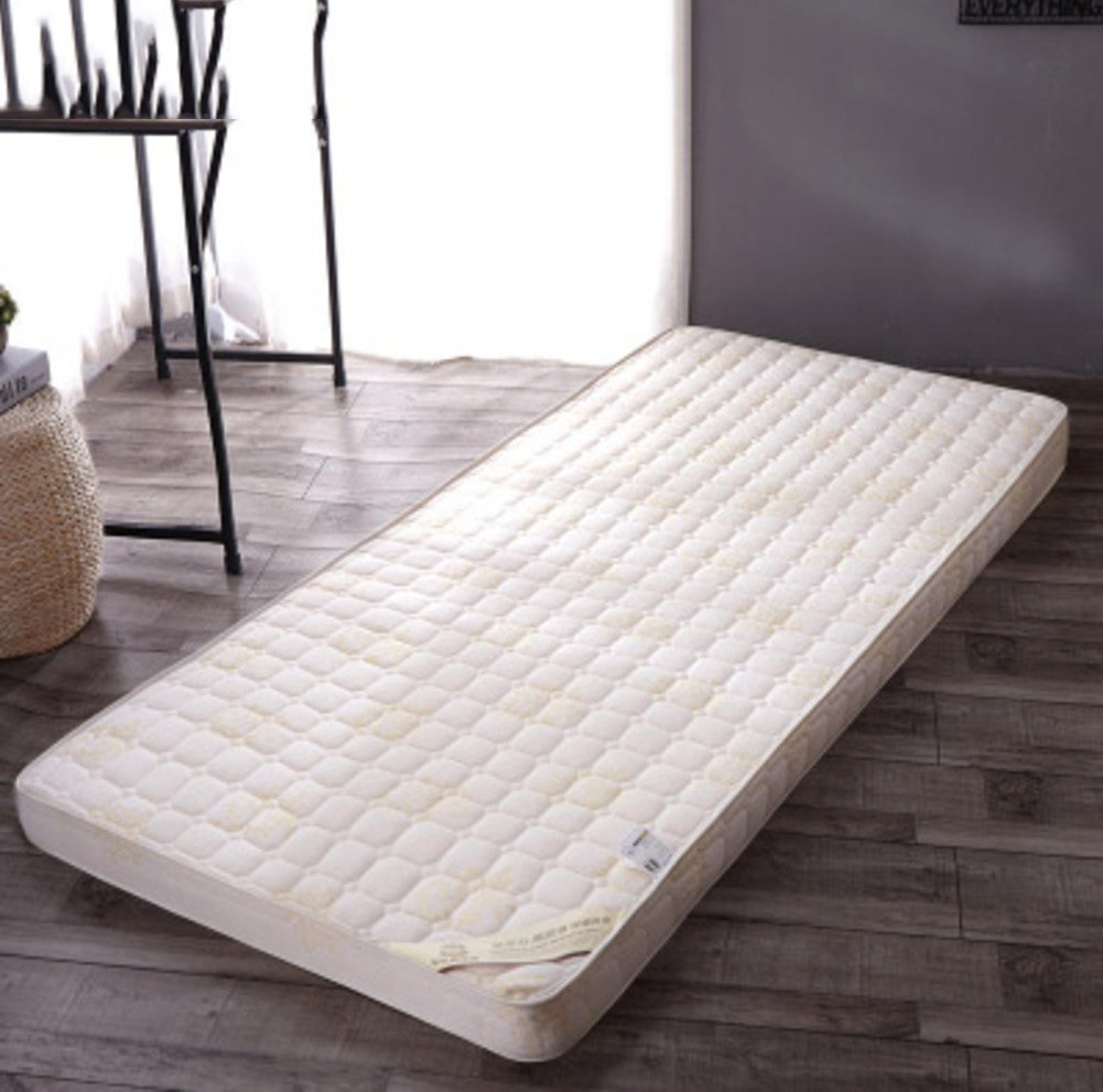 High Resilience Memory Foam Solid Mattress, Tatami Floor mat Double Queen Size Mattress Quilted Dormitory Single Size Futon Mattress Topper-B 120x200cm(47x79inch) Yellow star