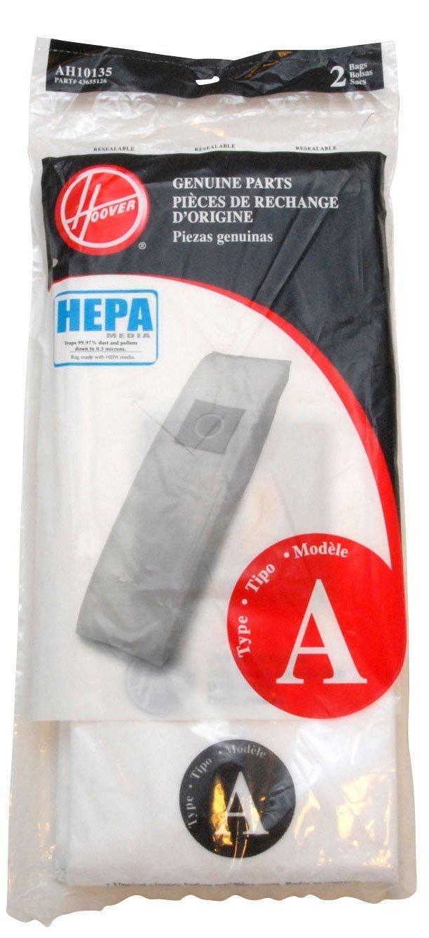 Hoover AH10135 Type A HEPA Bag (2-Pack)