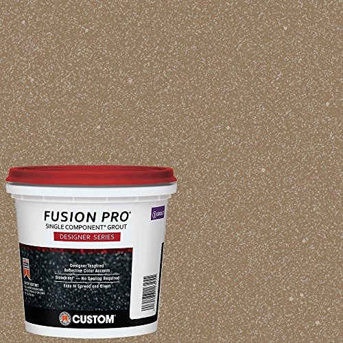 Custom Building Products Fusion Pro #554 Raw Sugar 1 qt. Designer Series Grout