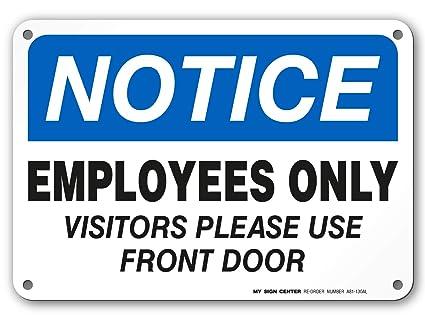 Amazon.com: Aviso solo a los visitantes por favor utilice el ...