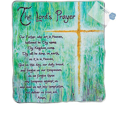 Bargain World The Lord's Prayer Plaque (With Sticky Notes) ()
