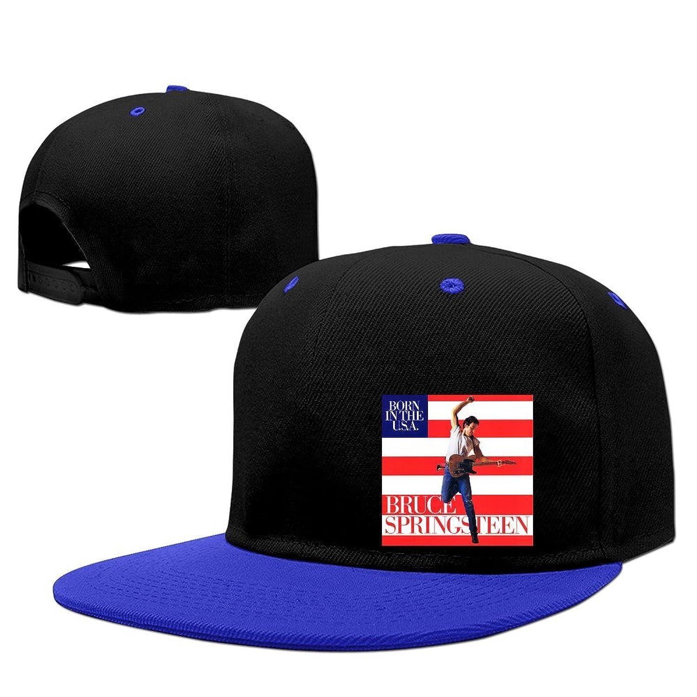 BestSeller Unisex Bruce Springsteen Snapback Adjustable Hip Hop Baseball Caps Hats