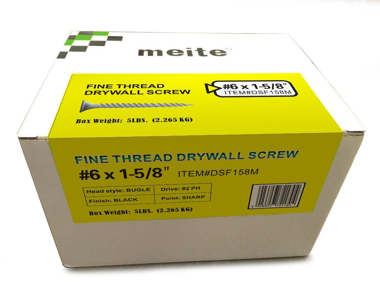 2 Drive Size Gray Phosphate Fine Thread Sharp Point 300-Pcs approximately 1 Pound ,Phillips Bugle Head Fullerkreg #6-18 x 1 Drywall Screw,