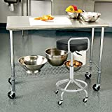 Seville Classics Airlift 360 Sit-Stand Adjustable