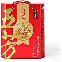 五芳斋粽子真空包装情系五芳礼盒1400g(亚马逊自营商品, 由供应商配送)
