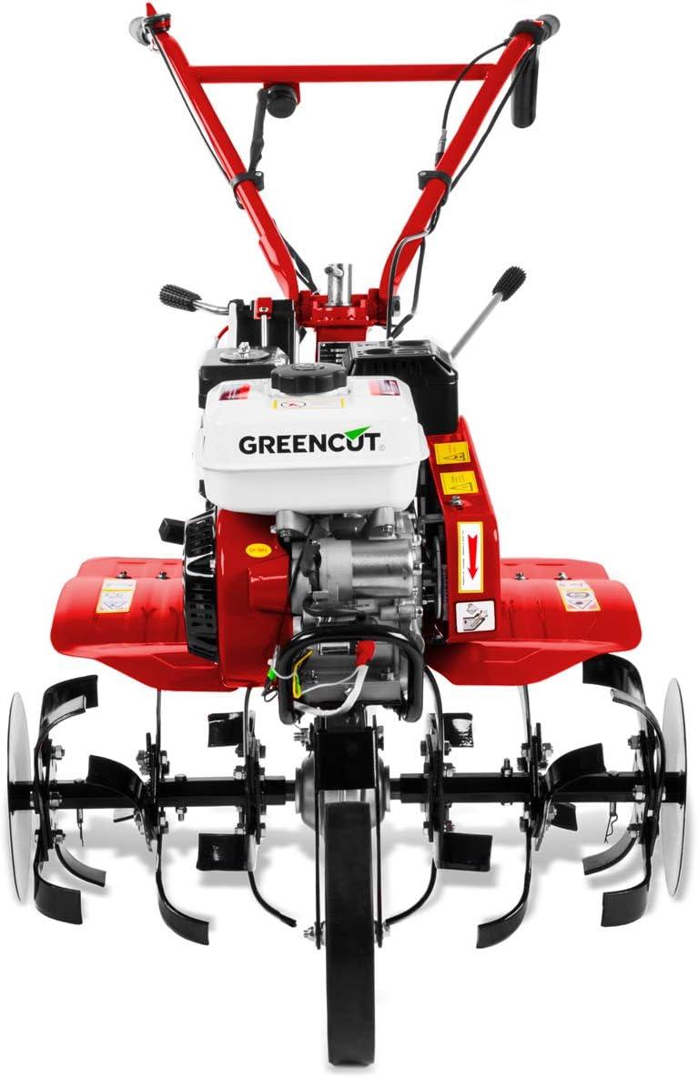 GREENCUT GTC300XE - Motoazada de gasolina con motor de 4 tiempos ...