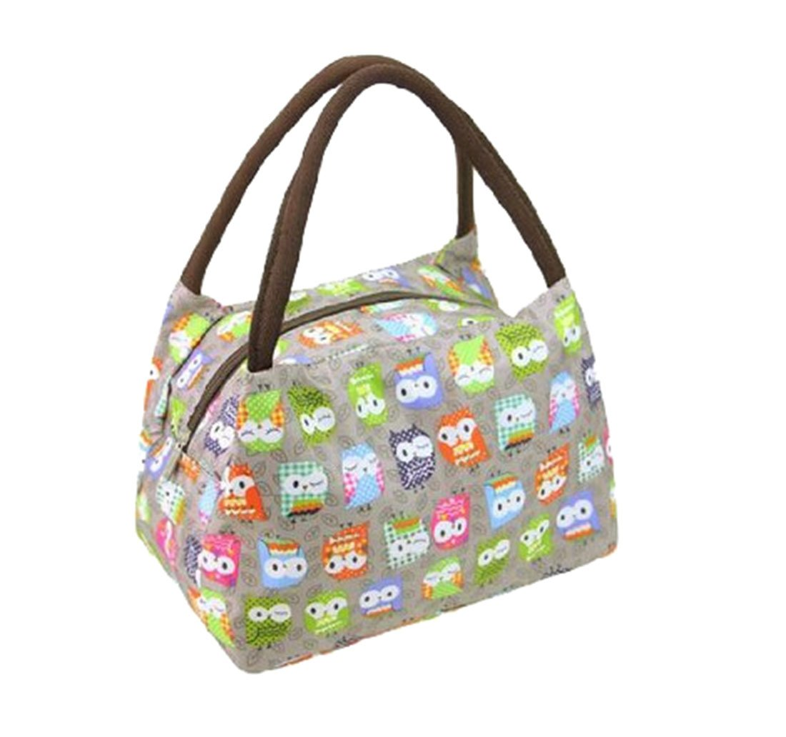 Fashion OWL Oxford cloth water proof Handbag meal bag for travel camping work school lunch box CuteMe