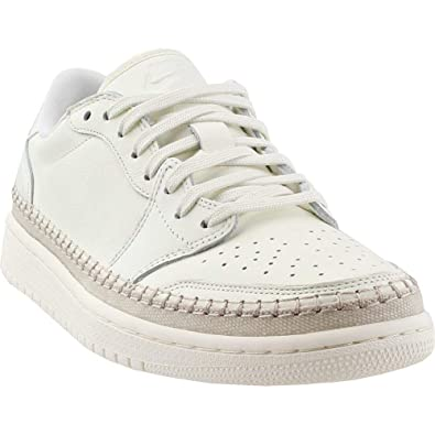 e3b4ca90930 Nike Womens Air Jordan 1 Retro Low NS Athletic & Sneakers White