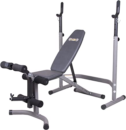 side facing body champ olympic weight bench