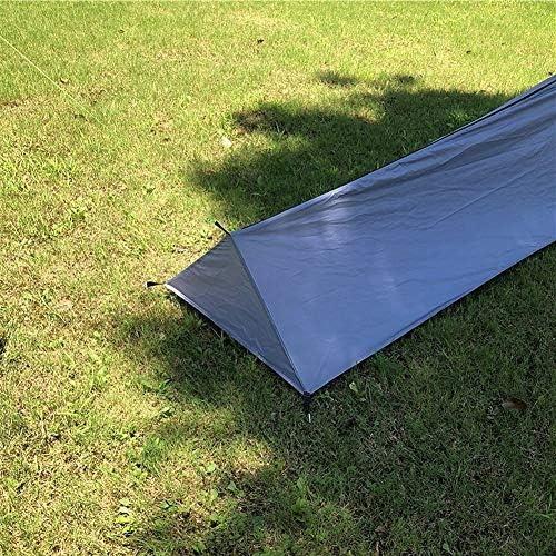 EIGHTT Tente extérieure Backpacking Sac de Couchage Camping Tente Lightweight Personne Seule Tente avec moustiquaire Tentes Camping pour Pique-Nique RandonnéE