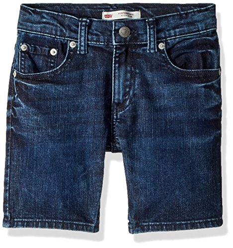 Levi's Boys' Big 511 Performance Shorts, Dropout, 14 (Denim Blue Jeans Boys)