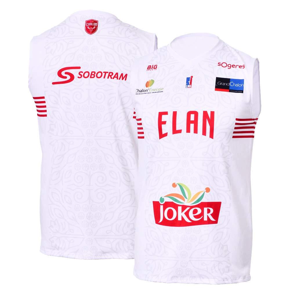 Elan Chalon Chalon - Camiseta Oficial de Baloncesto 2018-2019 ...