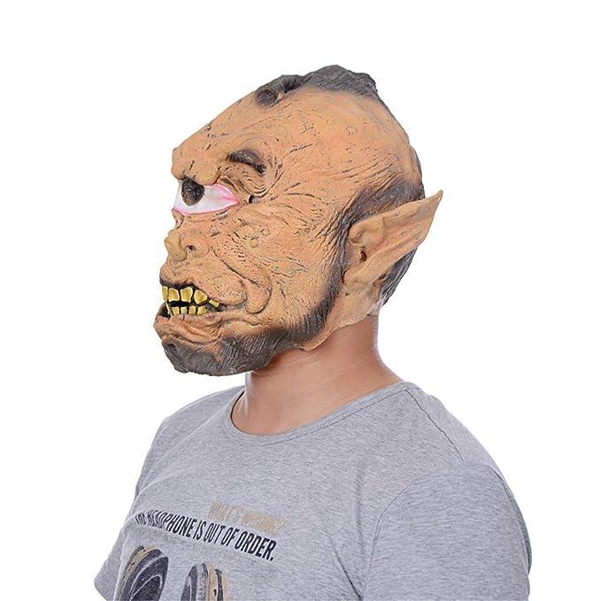 Amazon.com: Jonerytime - Máscara de simulación de cabeza de ...