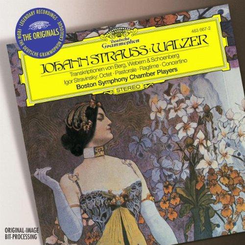 Johann Strauss: Walzer / Stravinsky: Octet, Pastorale, Ragtime, Concertino Walzer Johann Strauss
