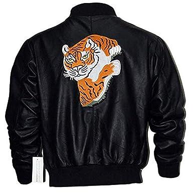 05ddf7285 Rocky II Balboa Tiger Black Jacket at Amazon Men's Clothing store: