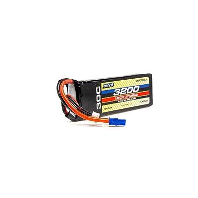 Onyx 11.1V 3200mAh 3S 30C LiPo Battery: EC3, ONXP32003S30: Toys & Games
