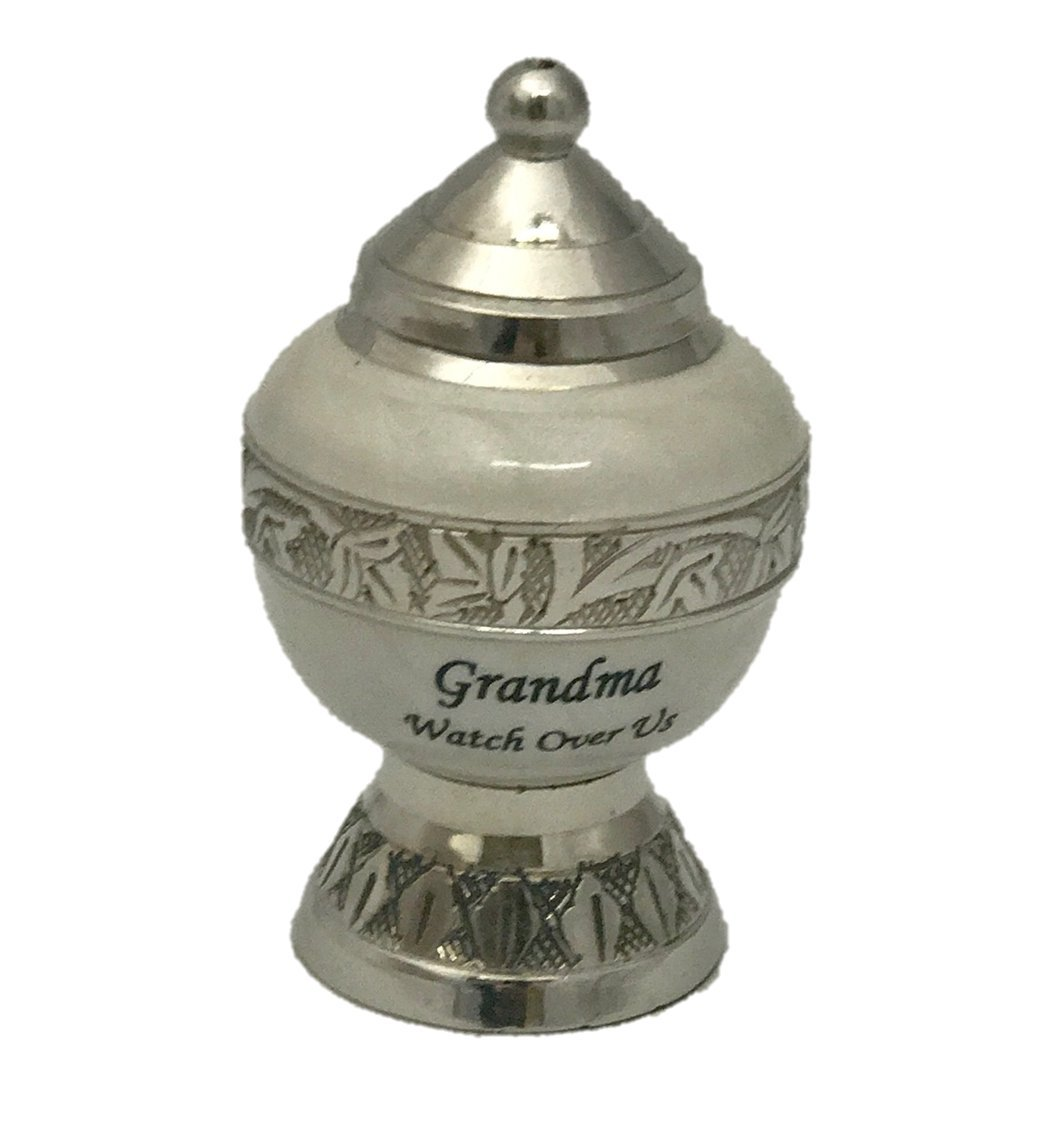 Customized Keepsake Cremation Urn, Funeral Tokens, Ash Urns with Personalized Engraving - Small Size