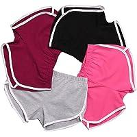 Gillberry Pants Women's New Sports Shorts Gym Workout Skinny Yoga Shorts Pants