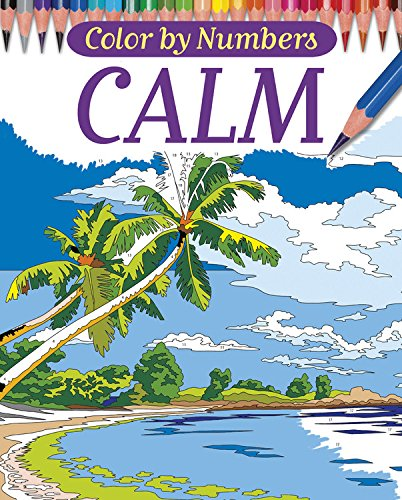 Color By Numbers - Calm (Chartwell Coloring Books) thumbnail