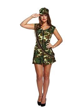 Mujer Adulto Sexy Chica Militar, Soldado Estilo disfraz ...