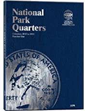 Whitman National Park Quarters Folder Collection 2010 to 2015