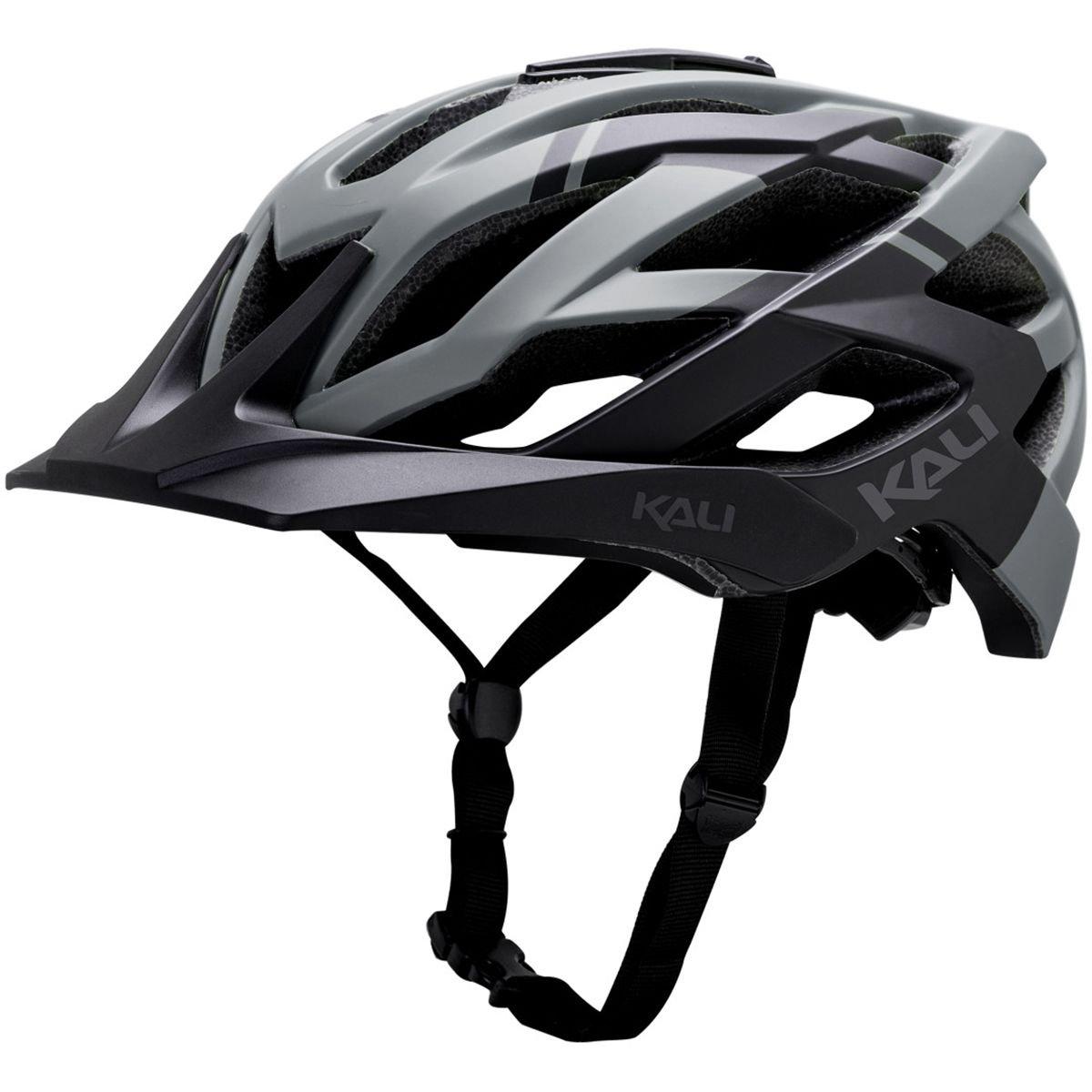 Kali Protectives 0221118117 Fahrrad Helm Unisex Erwachsene, schwarz grau, Größe  L