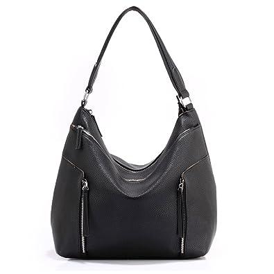 Ladies Hobo Shoulder Bag Womens Large Handbags Faux Leather New Designer Fashion