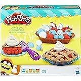 Hasbro - 14B3398 - Play-Doh Pâtisserie Fête - Set Créatif pour Pâte à Modeler