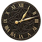 Artisan 16-in Indoor Outdoor Wall Clock - 02166