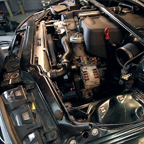 Mishimoto MMFS-E46-01 BMW M3 Performance Aluminum Fan Shroud Kit 2001-2006 Silver