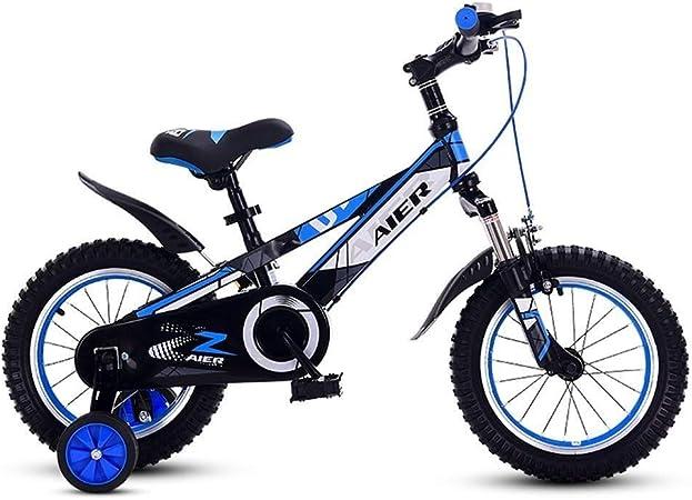 AJZGF Bicicletas niños Bicicleta for niños niño niña 14/16/18 ...