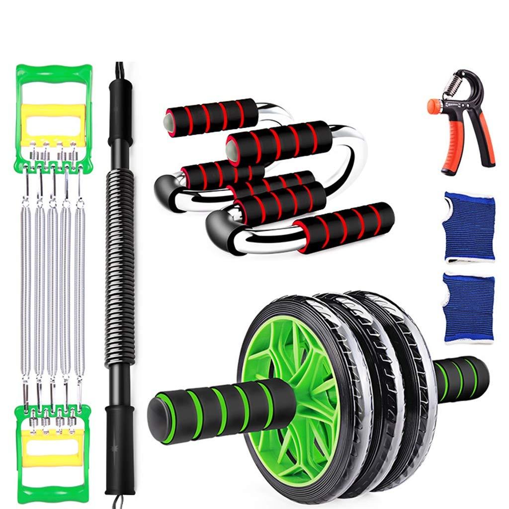 SZQ Männer Fitnessgeräte, Bauch Rad Haushalt Multifunktions Training Set Workout Dünne Bauch Arm Muscle Abdominal Muskel Rad Gewichtsverlust Helfer