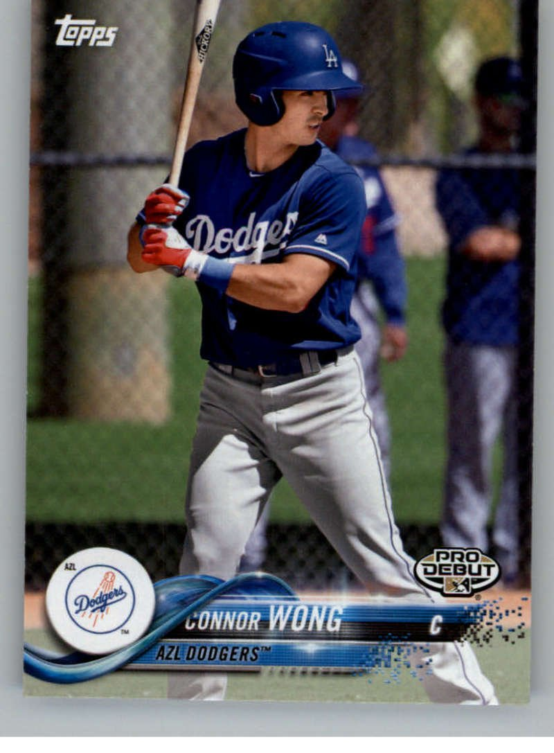 2018 Topps Pro Debut #197 Connor Wong