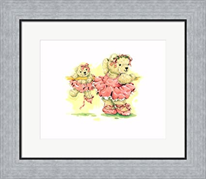 Amazon.com: Ballerina Bears, I by Sarah Bengry Framed Art Print Wall ...