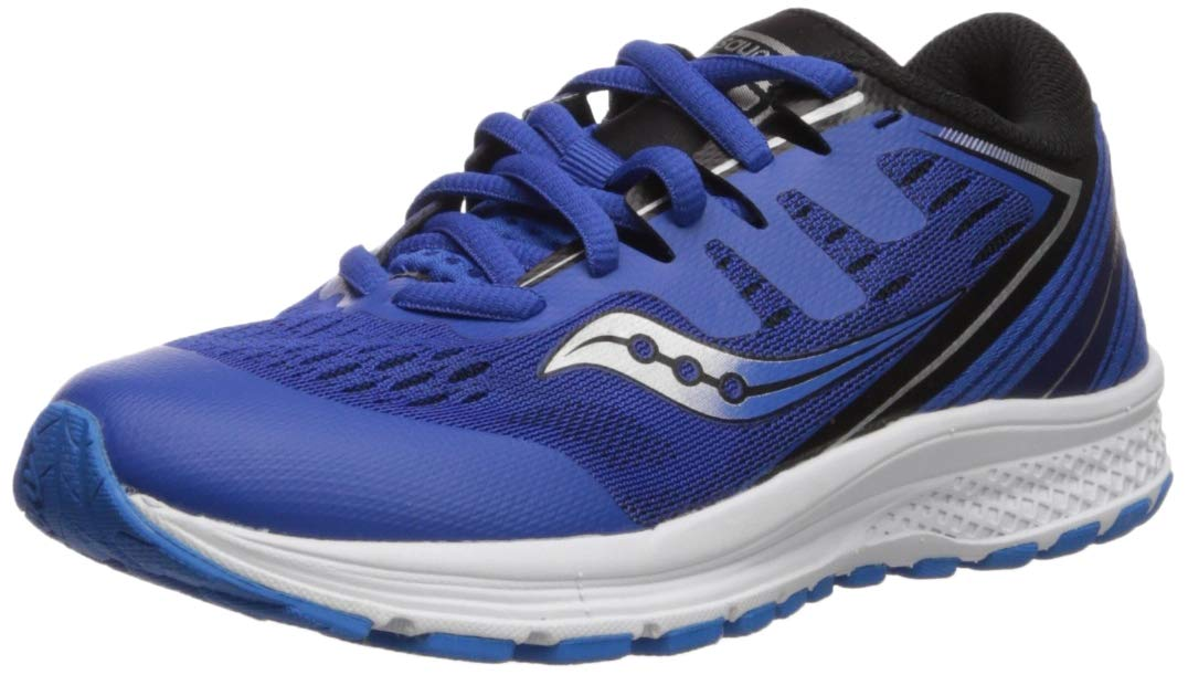 Saucony Boys' Guide ISO 2 Sneaker Blue 5.5 M US Big Kid