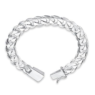f44ac605987d Styleziel 1645 - Pulsera de plata 925 para hombre