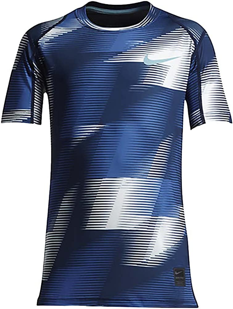 Nike Boy`s Pro Cool Compression Fitted Short Sleeve T-Shirt