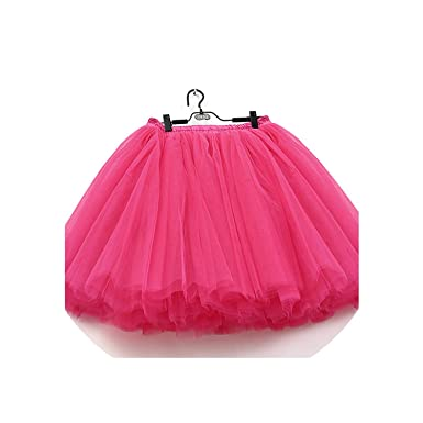 1a862af239 Image Unavailable. Image not available for. Color: 7 Layers Midi Tulle Skirt  for Girls Skirts Women Ball Gown Party Petticoat Lolita ...