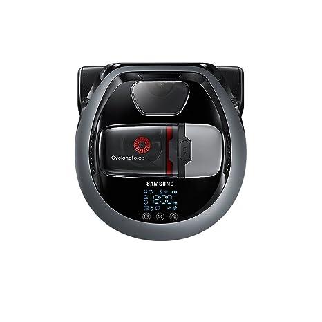 Samsung VR10M703IWG Sin bolsa 0.3L Gris aspiradora robotizada - Aspiradoras robotizadas (Sin bolsa,