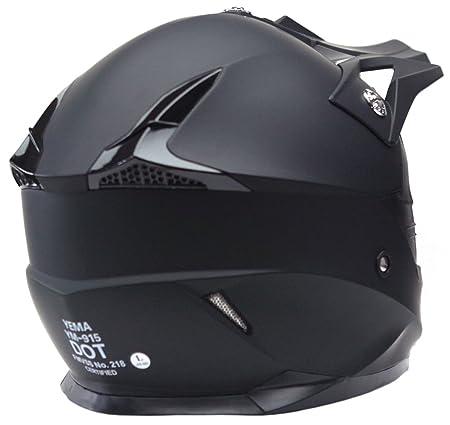 Motorcycle Motocross ATV Helmet DOT Approved - YEMA YM-915 Motorbike Moped Full Face Off Road Crash Cross Downhill DH Four Wheeler MX Quad Dirt Bike ...