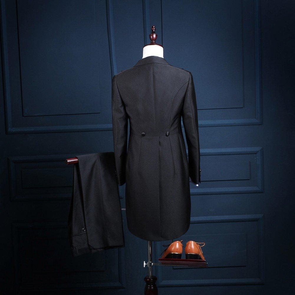 Love Dress Men's 3 Pieces Suit Groom Tuxedo(Jacket+Pants+Vest) 5XL by Love To Dress (Image #3)