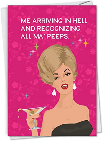 3 for 2 On All Cards Happy Birthday Funny Ladies Greeting Card by Cards For You