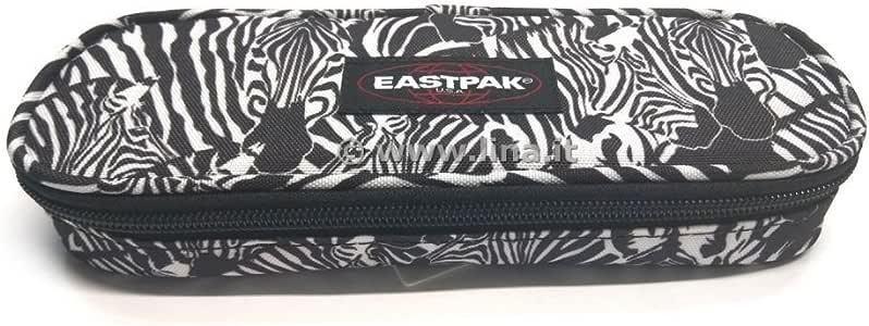 Estuche Escolar Bolsita Oval Small Eastpak Zebra Mania: Amazon.es: Oficina y papelería
