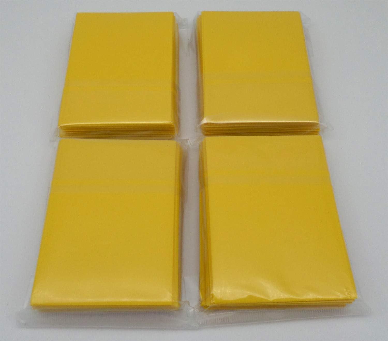 YGO CFV Mini Docsmagic.de 4 x 60 Double Mat Black Card Sleeves Small Size 62 x 89