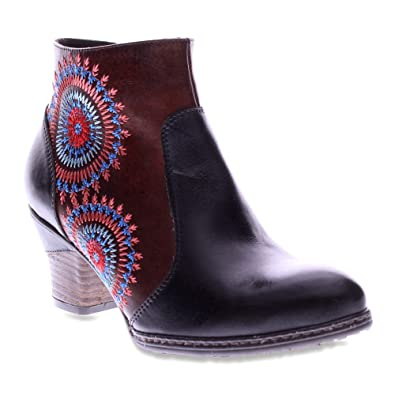 Spring Step Remarkable Women's Black Leather Boot 38 ...